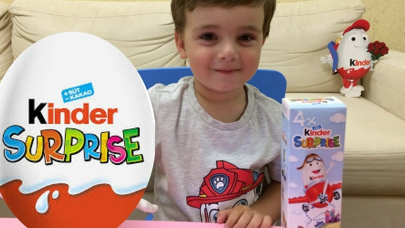Киндер Сюрпризы, Игрушки Unboxing Kinder Surprise Kids for video