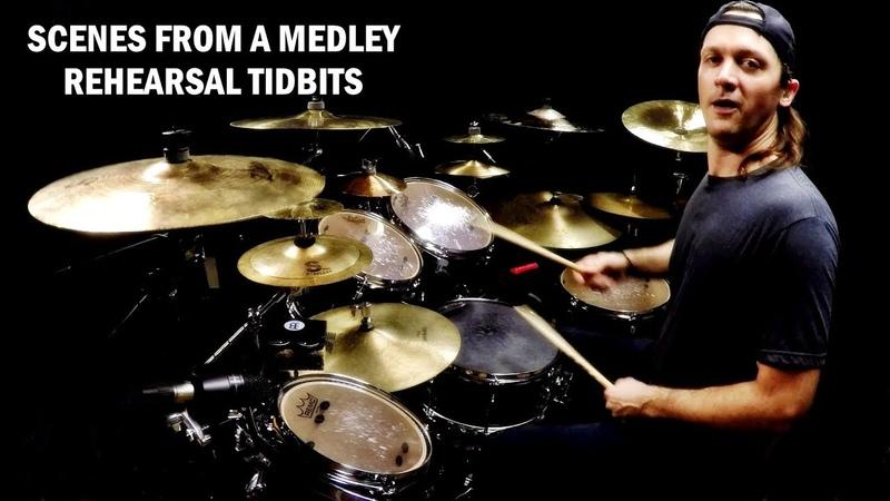 Josh Steffen Scenes from a Medley Rehearsal Tidbits