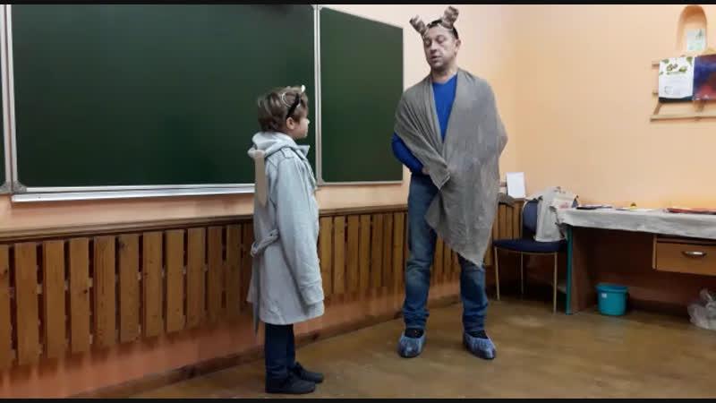 2 класс. Басня И.А.Крылова «Мышь и крыса».
