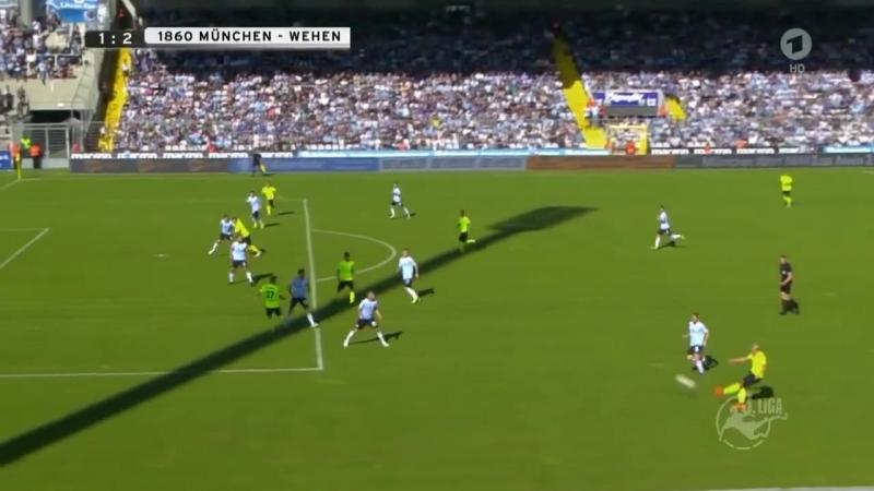 Мюнхен 1860 1:2 Веен Висбаден (22.09.2018)