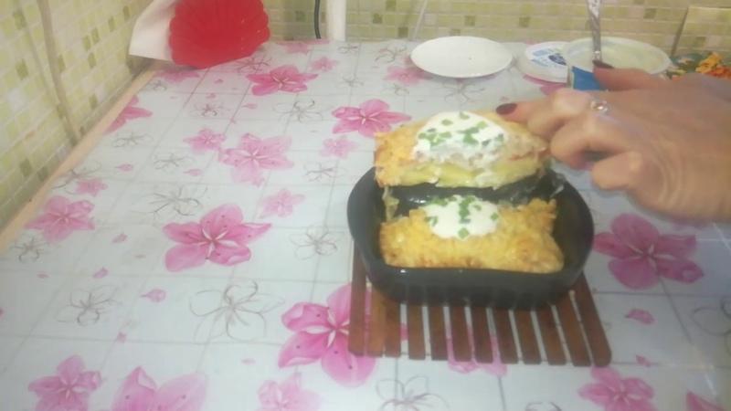 Вкуснейшая запеканка с мясом и картофелем Едим дома Сам себе повар Домашняя кухня