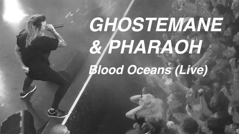Ghostemane Pharaoh - Blood Oceans (How Many?) - Live в Москве