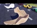 Разработка эксклюзивной уличной мебели для автогонщика