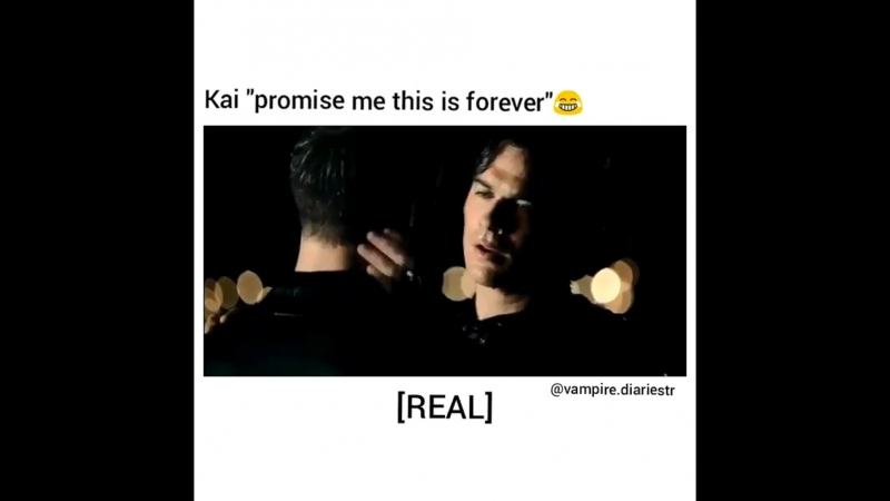 TVD promise me this is forever 😂