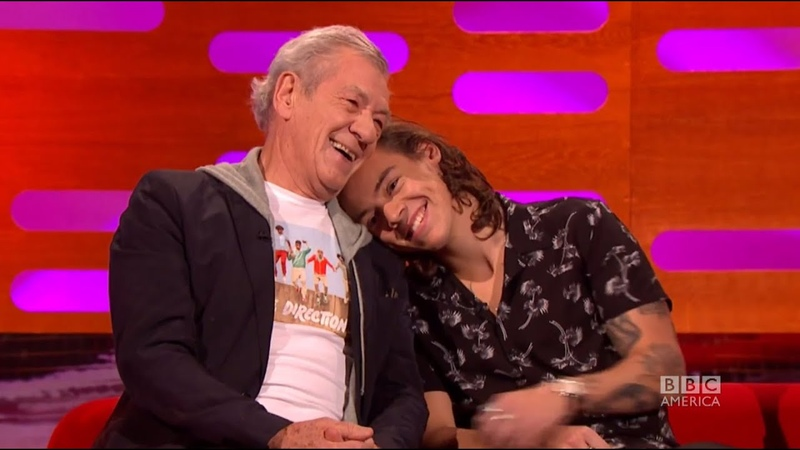 Sir Ian McKellen and One Direction Admire Each Others Work - The Graham Norton Show on BBC America
