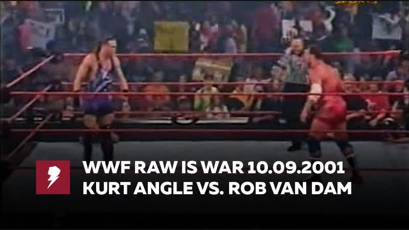 [My1] Ро за 10 сентября 2001 - Курт Энгл против РВД за титул Хардкор чемпиона