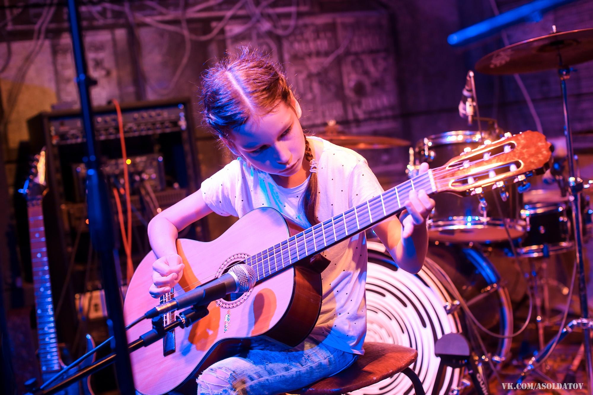 Отчетный концерт школы музыки Play Groove