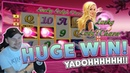 Lucky Ladys Charm BIG WIN - HUGE WIN on Casino Games session