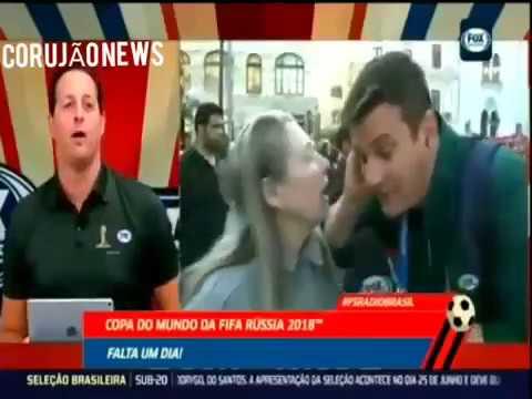 Интервью бразильского корреспондента с жительницей Москвы