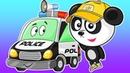Мультики Про Машинки. Полицейская Машина и Биби. Видео Для Детей Полицейская Погоня
