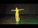 Classical bellydance( Ana Bastanak) Ana Perčič at Yasmina Ramzy's show in Zagreb