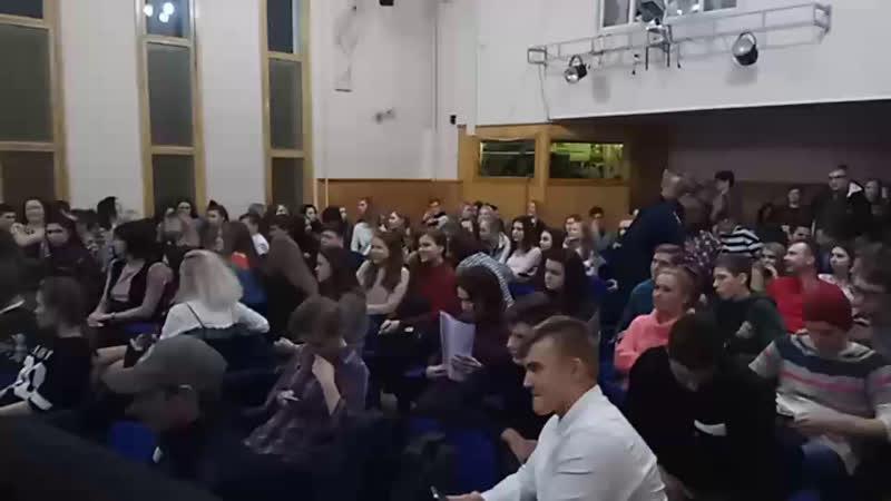 Посвящение в студенты Сортавальского колледжа
