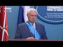 Пресс-конференция президента Республики Сербской и губернатора Санкт-Петербурга