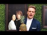 'Outlander' superstar Sam Heughan accepts Best Actor Award from Gold Derby