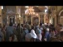 перенос мощей прп Иоасафа Каменского фрагмент видео