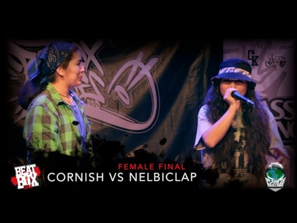 Cornish vs Nelbiclap | Female solo Final | Campeonato Nacional Beatbox Chile 2018.