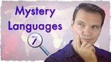 Mystery Languages 7 - Can you guess them all!