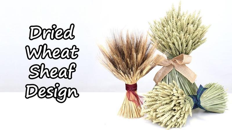 How To Make A Dried Wheat Or Barley Sheaf