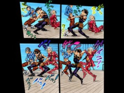 JoJo's Bizarre Adventure Part 5 torture dance scene leaked