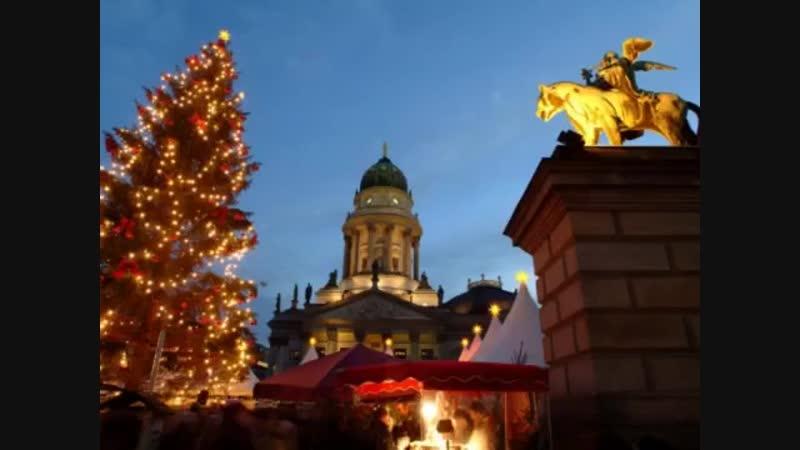Три Рождественские ярмарки Берлина в одном туре! А также обзорная экскурсионная прогулка по Берлину.