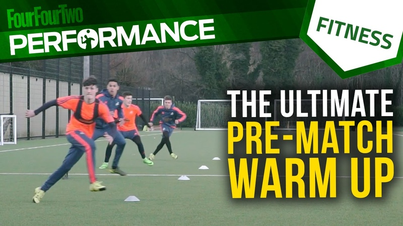 The ultimate pre-match warm up | Swansea City Academy