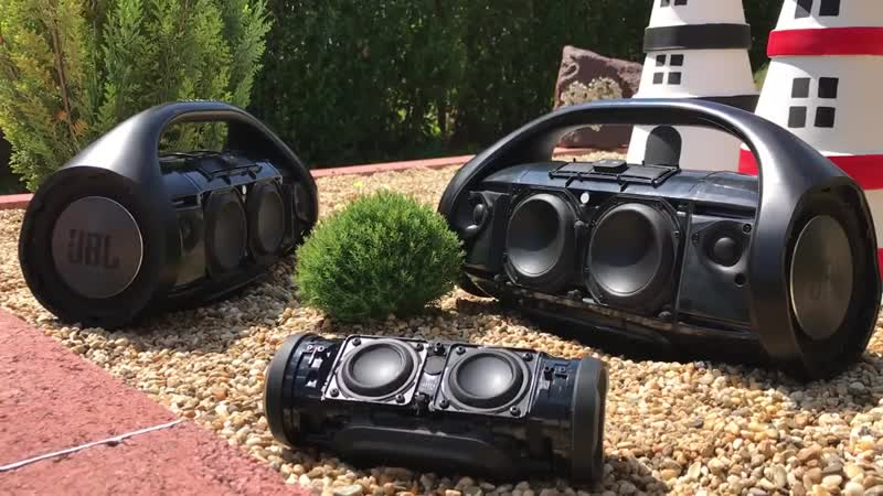 Xtreme Bass test - 2x JBL Boombox JBL Charge 3.mp4