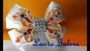 Como hacer moños con estilo para niñas How to make stylish bows for girls