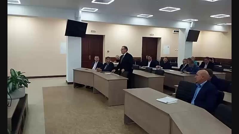 Встреча регионального оператора по вывозу ТКО с депутатами БМР