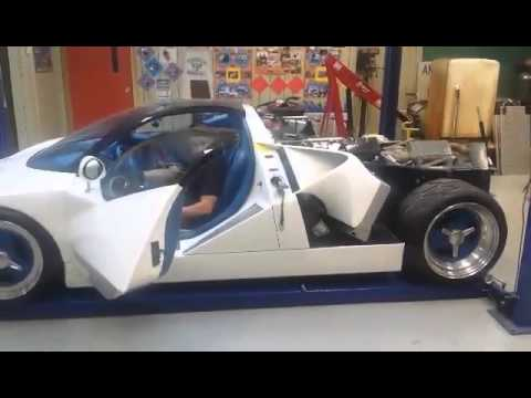 1995 Ford gt90 start and rev.