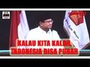 Pidato Prabowo pada Konferensi Nasional Partai Gerindra Negara Akan Punah