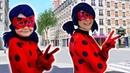 Леди Баг Челлендж в костюме ЛЕДИ БАГ/ Повторяем мимику Леди Баг из мультфильма Леди Баг и Супер Кот