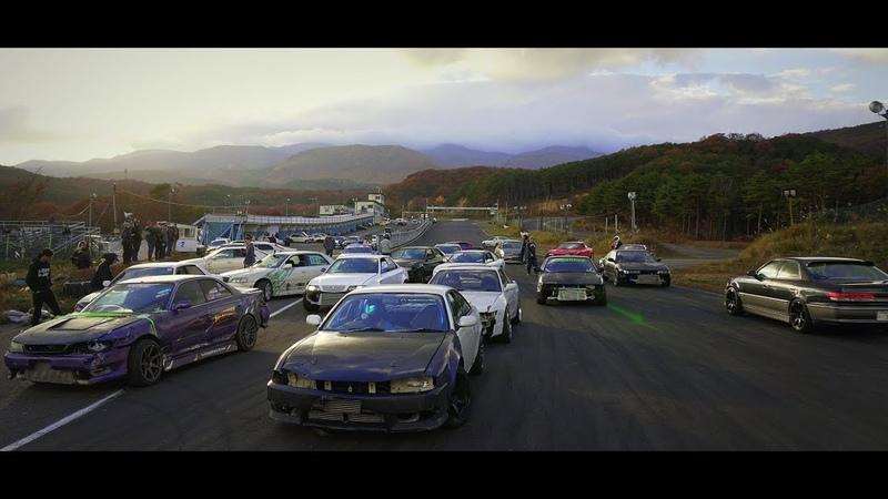 エビス ドリフト秋祭り 2018  Ebisu Fall Drift Matsuri 2018 JZX RIOT