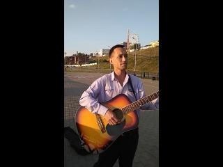 Музыкант набережная Ижевского пруда 1
