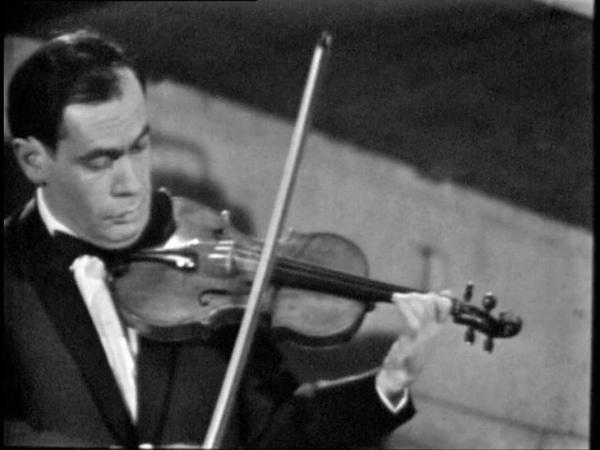 Leclair, Sonata 2 violins in C Major - Leonid Kogan, Elizaveta Gilels