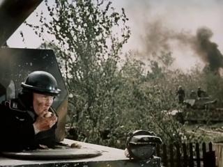 Блокада. Немецкие танки в Урицке.