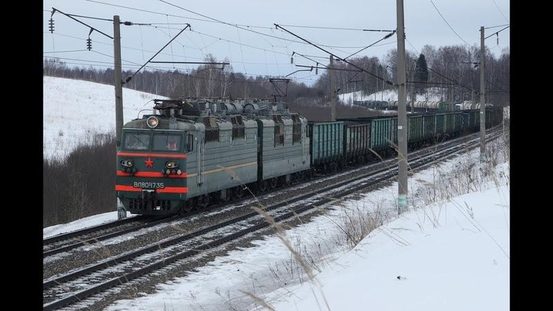 Один день из жизни перегона Дурово - Сафоново Московской железной дороги.