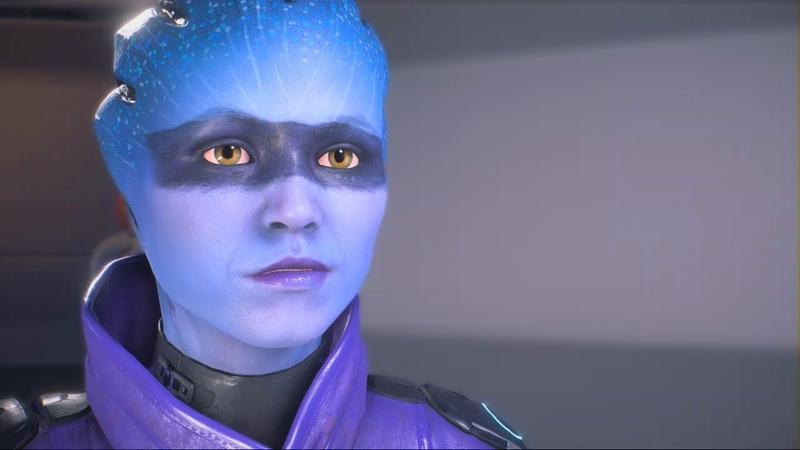 Mass Effect Andromeda: Peebee Romance Complete All Scenes(Female Ryder)