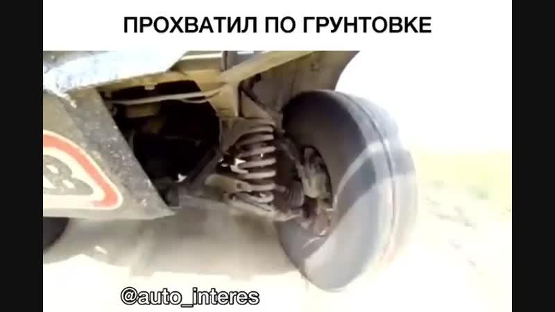 Работа подвески ВАЗ 21213 Нива