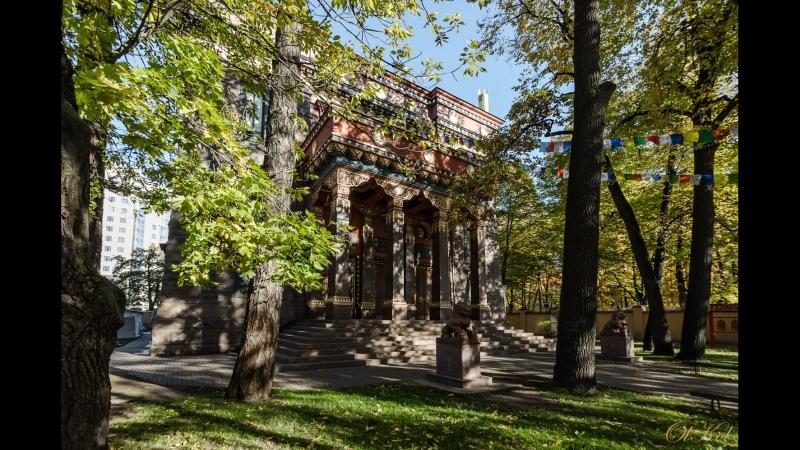 Храм Будды. Санкт-Петербург.