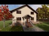 Проект дома в Слониме Архитектурная компания