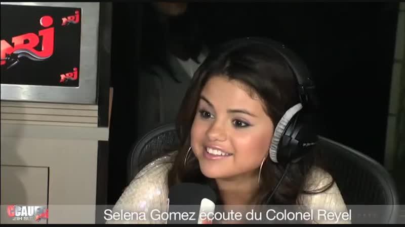 Selena Gomez écoute du Colonel Reyel - CCauet sur NRJ