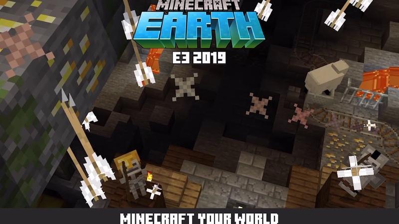 Minecraft Earth E3 Demo Danger Below