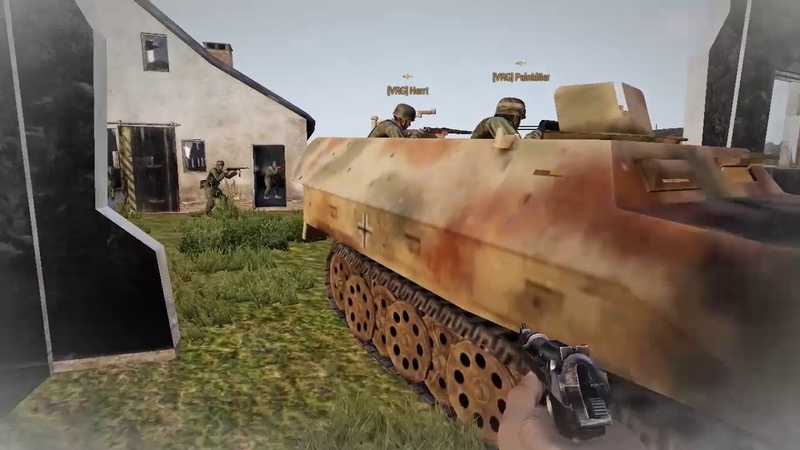 РККА пытаются отбить колхоз Ленина. [Red Bear Iron Front ArmA 3]
