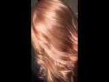 Окрашивание волос. На косметике Матрикс.