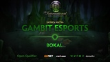 Gambit Esports против Bokal, Вторая карта, Открытая СНГ квалификация к TI8