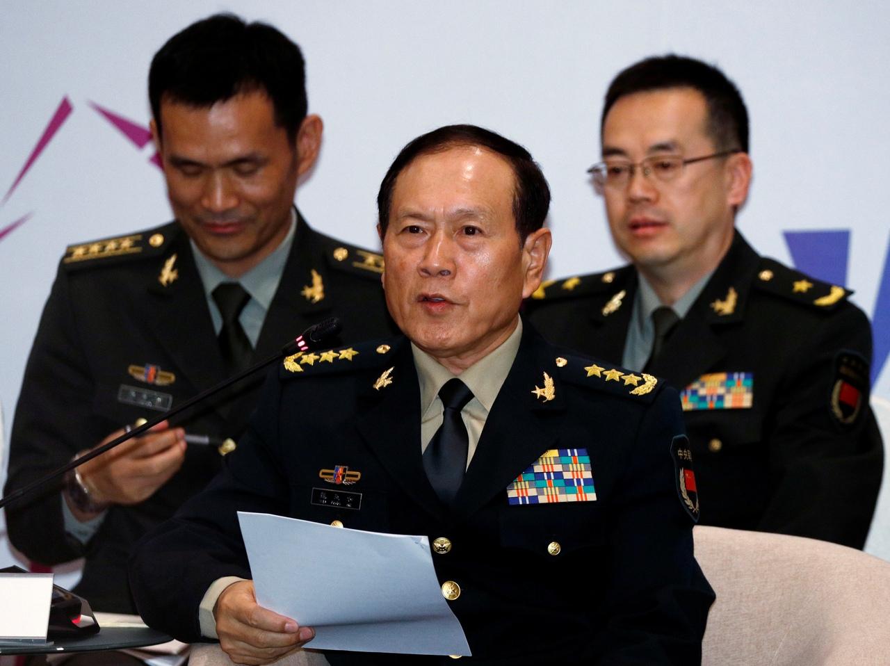 Министр обороны Китая прокомментировал обвинения США во «вмешательстве»