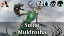 MTG Arena GRN Sultai Muldrotha DeckTech kinda Gameplay Se.3 Ep.2 Dredged
