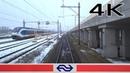 ZO ONTSTAAT VERTRAGING: deur 4K CABVIEW SNOWLAND Hoofddorp Opstel - Amsterdam SLT 24jan 2019