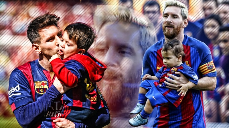 Lionel Messi Thiago Messi Mateo Messi - Father and Sons ❤ HD