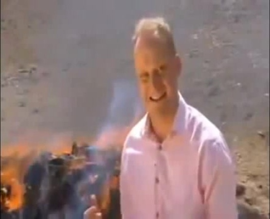 BBC News Reporter Gets High